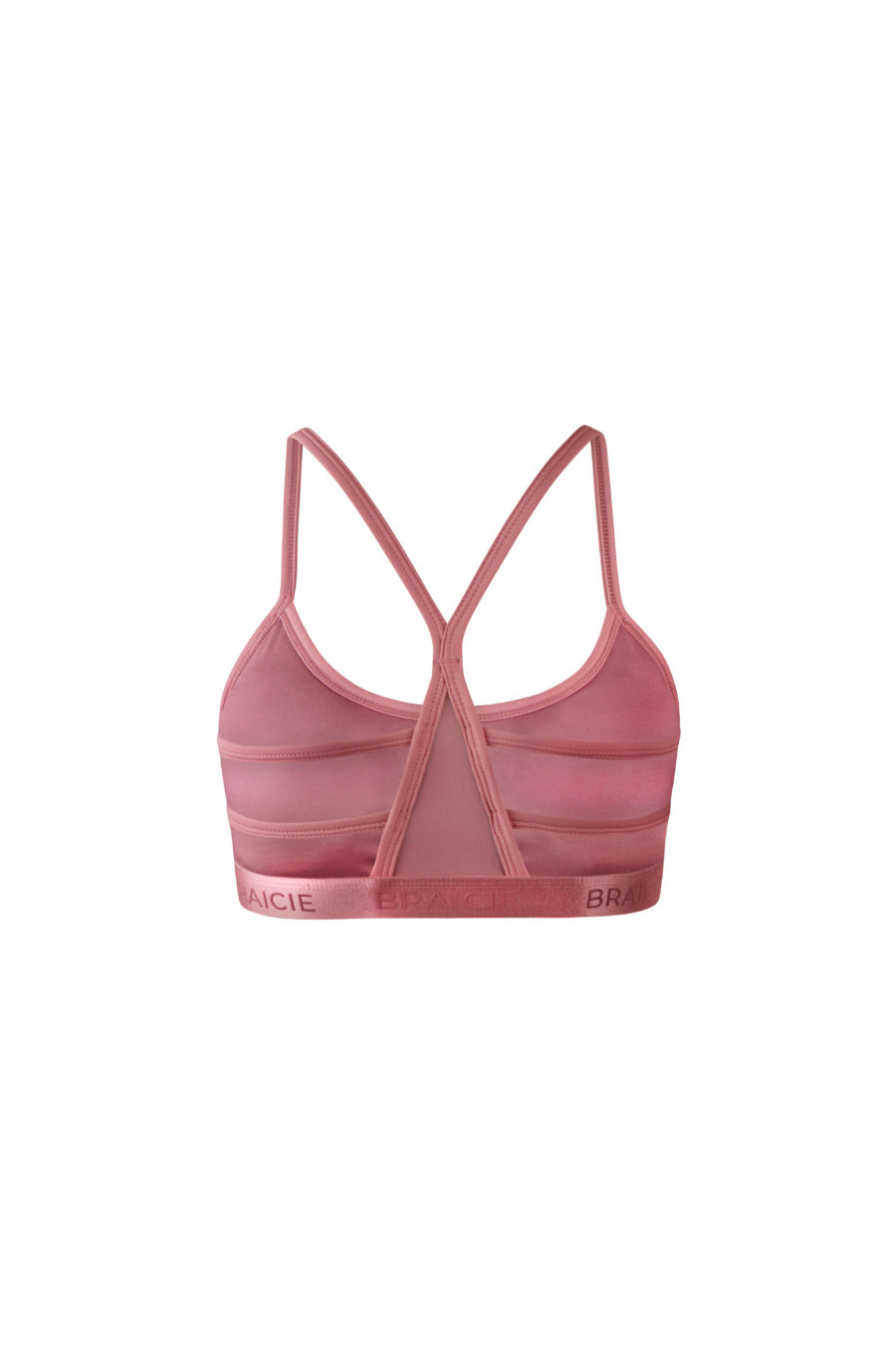 Funktionaler Damen Sport-BH rosa für Fitnesstraining oder Yoga